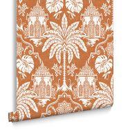 Imperial Orange Behang, , large