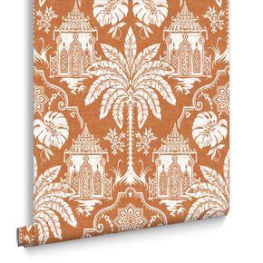 Imperial Orange Wallpaper, , large