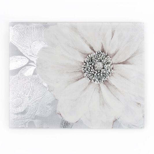 grey bloom printed canvas grahambrownus. Black Bedroom Furniture Sets. Home Design Ideas