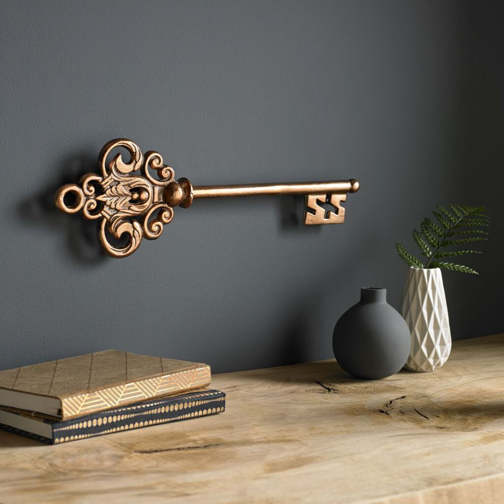 castle key rose gold grahambrownus On decoration murale rose gold