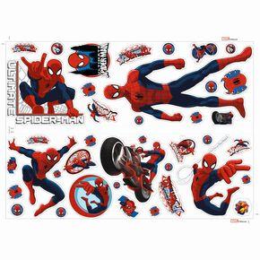 Spiderman Muursticker, , large