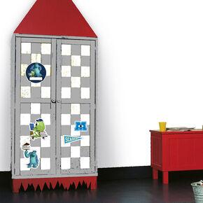 Monster Mini-Tür-Sticker, , large