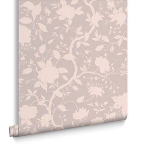 Botanic Taupe Wallpaper, , large