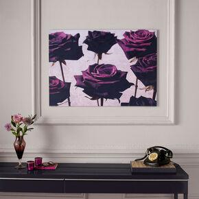 Velvet Roses Printed Canvas, , large
