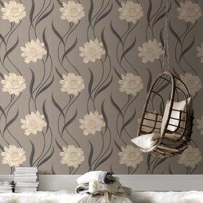 Poppy Taupe et Charcoal, , large