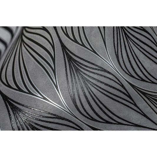 Optimum black silver graham brown for Black and silver wallpaper