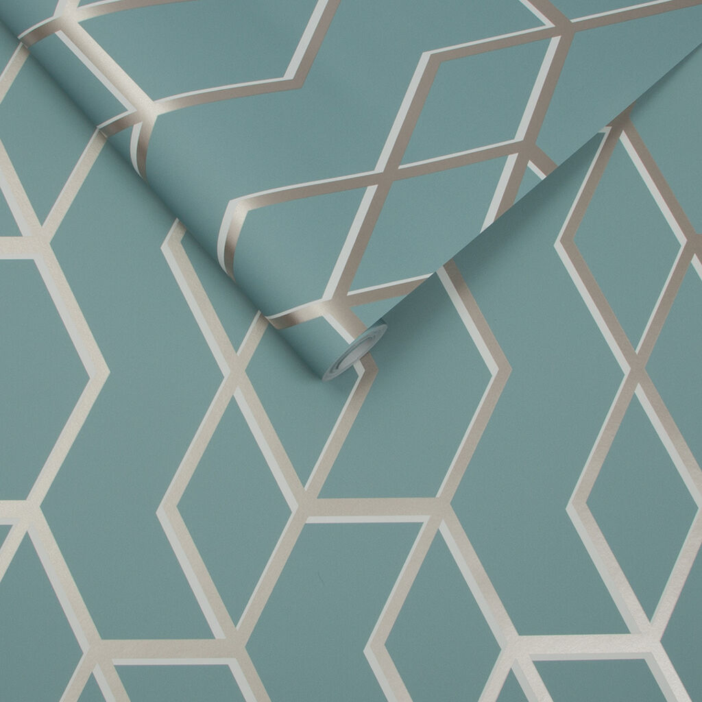 archetype tapete mint und wei gold grahambrownde. Black Bedroom Furniture Sets. Home Design Ideas