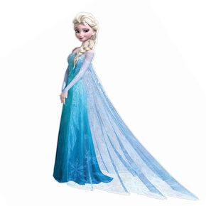 Frozen Elsa Lifesize Sticker, , large