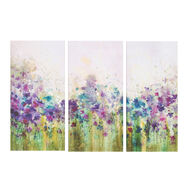 Watercolour Wiese Bedruckter Canvas, , large