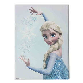 Frozen - Elsa bedrukt canvas, , large