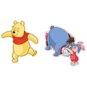 Winnie the Pooh Mini Foam Elements 2pcs, , large
