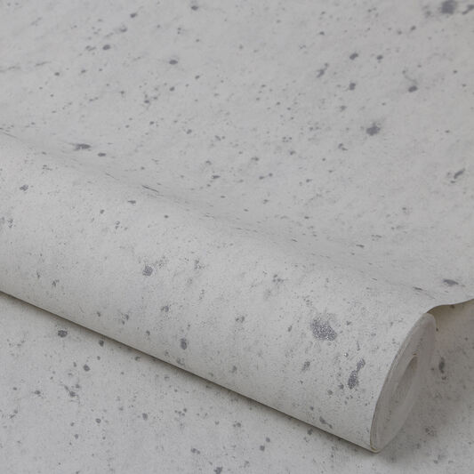 Tapete weiß glitzer  Alpine White and Glitter Wallpaper | Graham & Brown