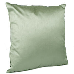Sage Green Lustre Cushion, , large