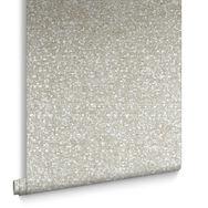 Confetti Taupe & Silver Wallpaper, , large