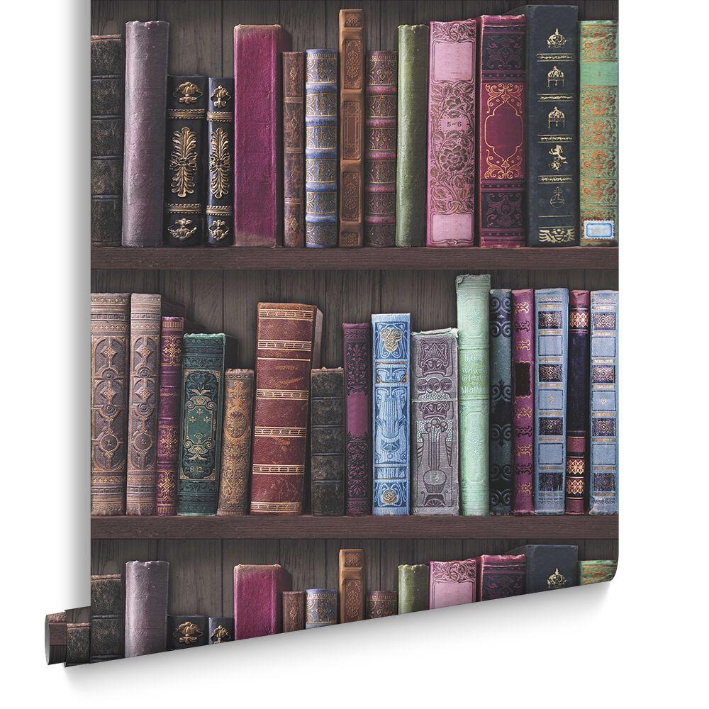 book shelf wallpaper large
