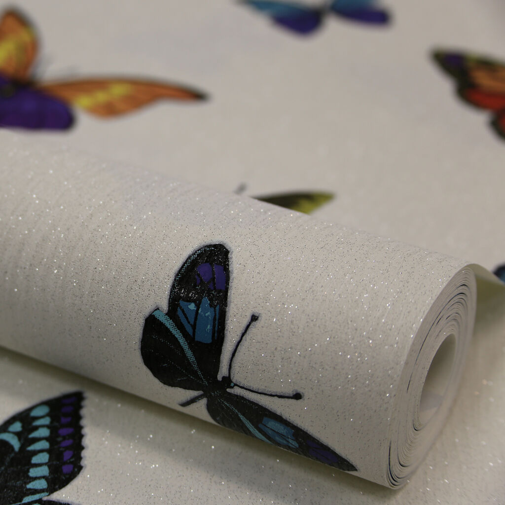 Flutterby pearl graham brown for Flutterby wallpaper
