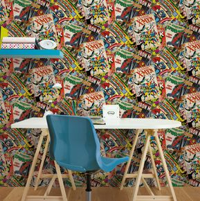 Marvel Cover Story Wallpaper, , large