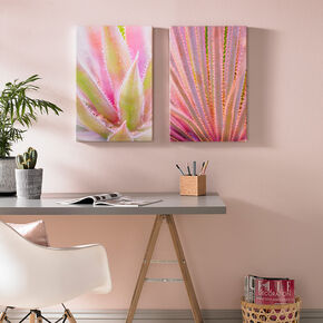 Blushed Tropics Printed Canvas, , large