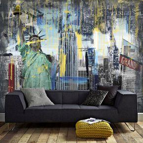 Fotobehang Couture New York Graffiti, , large