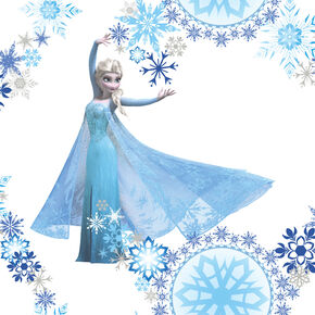 Frozen Snow Queen Wallpaper, , large