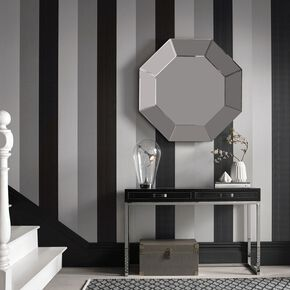 Black Wallpaper Designs Striped Patterned Black Wallpaper - Wallpaper for walls black and white