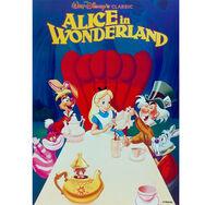 Alice In Wonderland Printed Canvas, , large