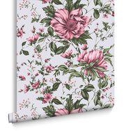 Botanical Pink Wallpaper, , large