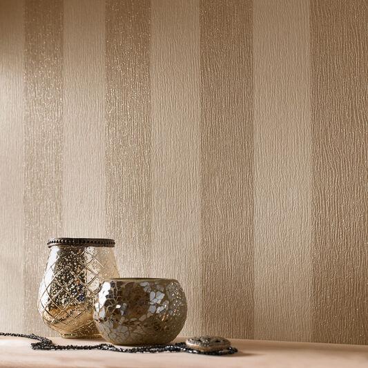 Glitterati Cream And Gold Wallpaper Grahambrownuk