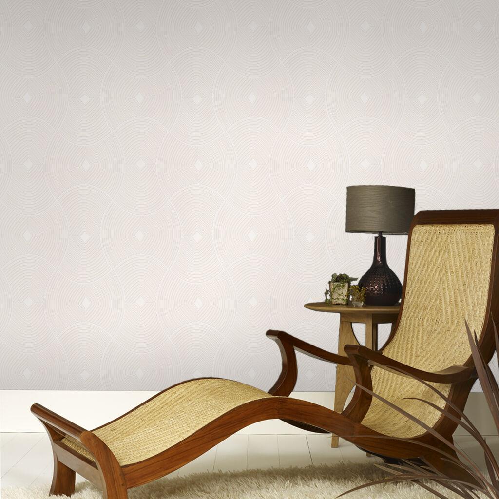 ulterior white wallpaper graham brown. Black Bedroom Furniture Sets. Home Design Ideas