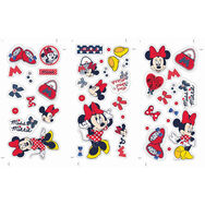 Petit sticker mural Minnie Mouse, , large