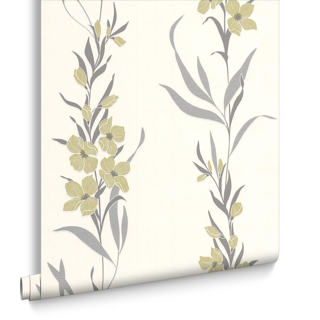 Jardin green wallpaper graham brown for Jardin 32 neuquen