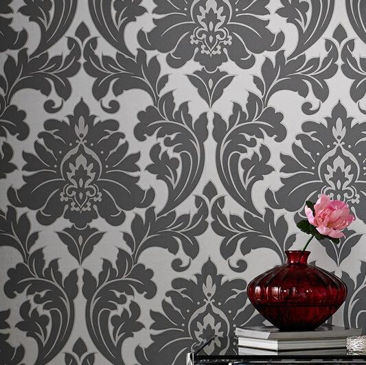 Majestic Grey Wallpaper, , large