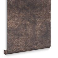 Moonstone Chocolate and Copper Wallpaper, , large