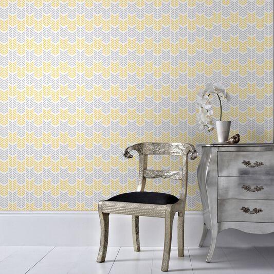 Oiti Yellow Wallpaper, , large