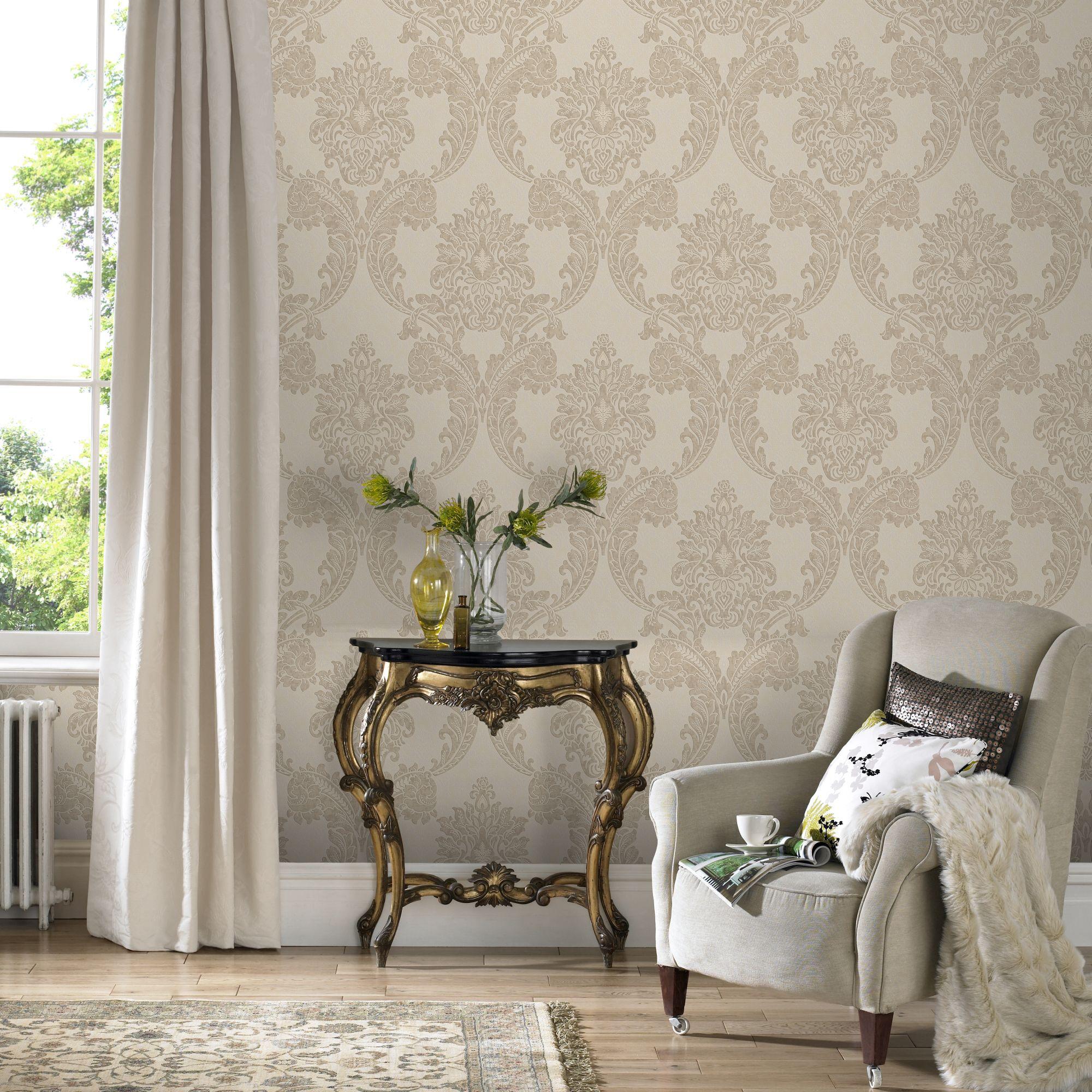 Marvelous ... Large Regent Neutral Wallpaper, ... Part 16