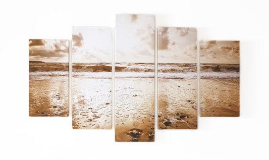 Sunrise Beach Printed Canvas, , large