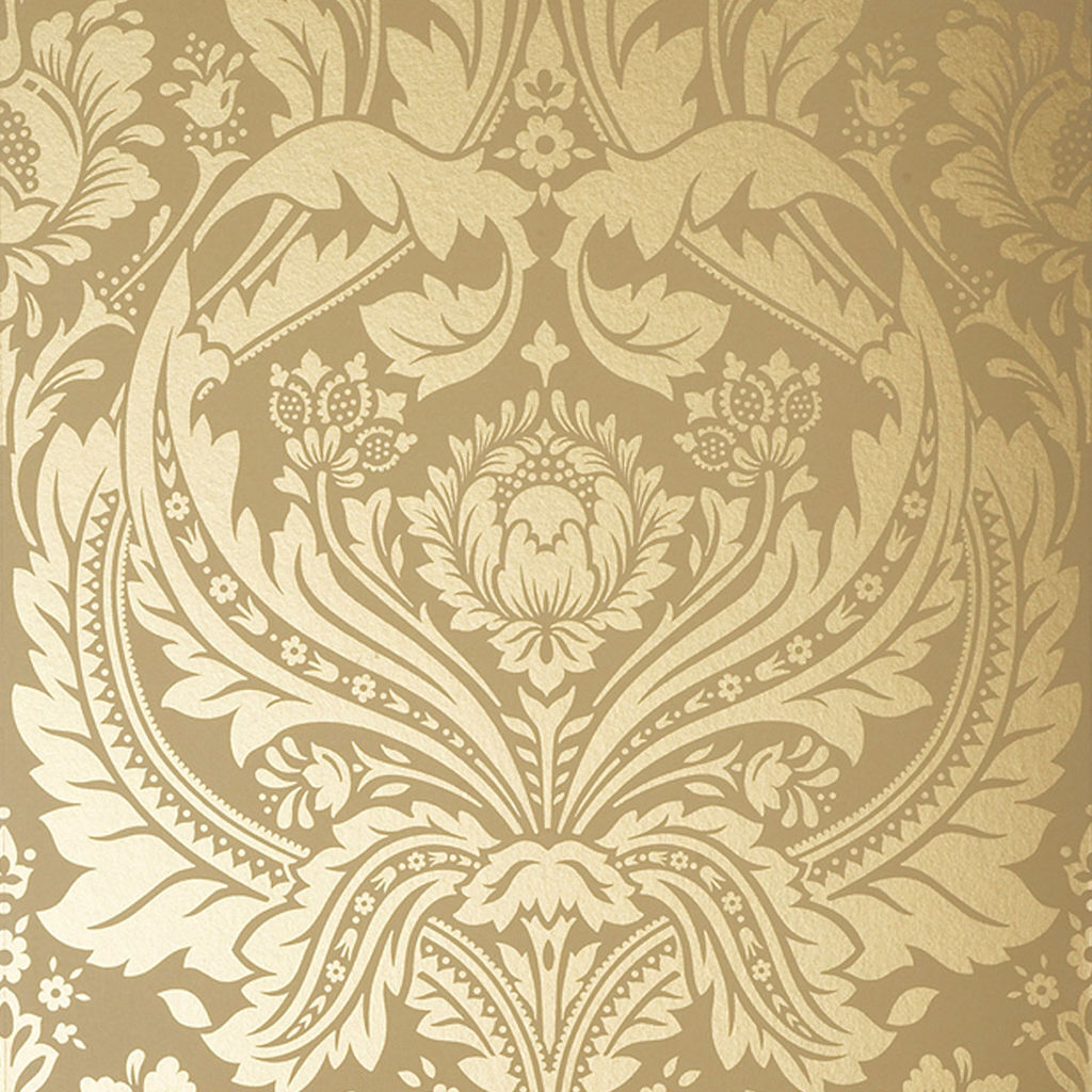 Gold Wallpaper Canada: Gold & Mustard Coloured Wallpaper