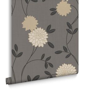 Shaan Charcoal Wallpaper, , large