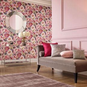 Chelsea Fuchsia Wallpaper, , large