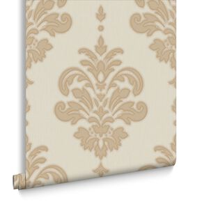 Olana Gold and Neutral Wallpaper, , large