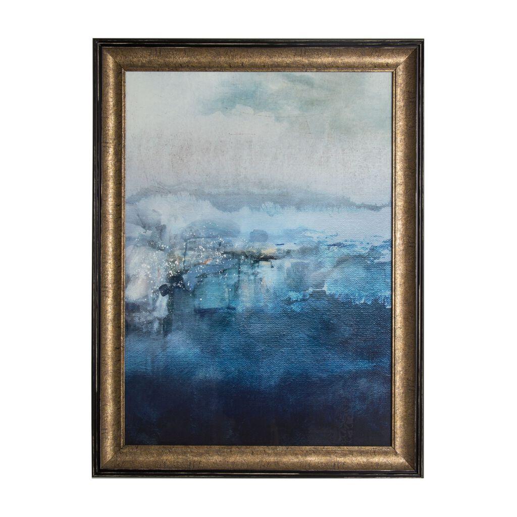 Ink abstract framed art grahambrownuk for Framed wall art