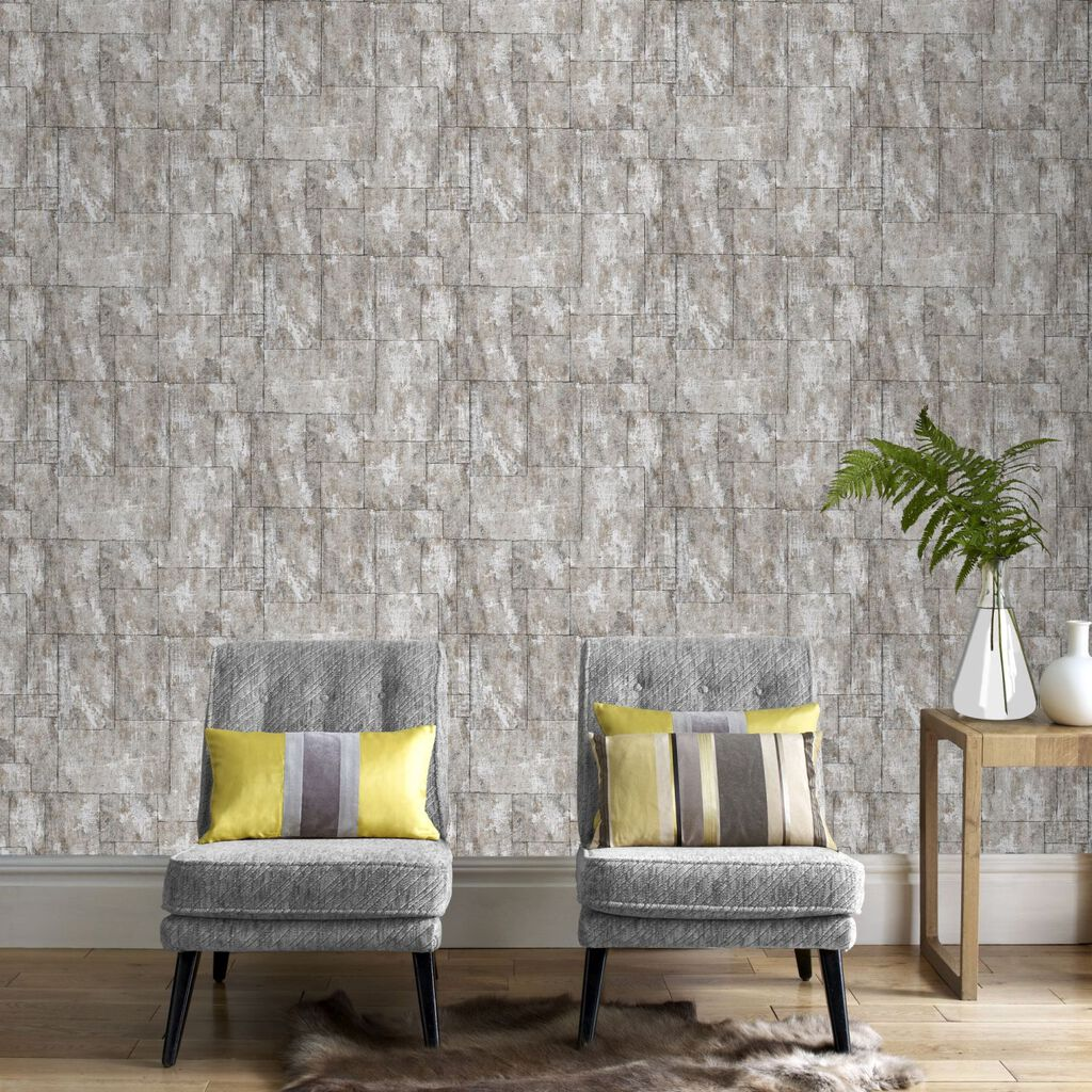 Mineral Stone Wallpaper, , large ...