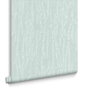 Crushed Silk Teal Wallpaper, , large