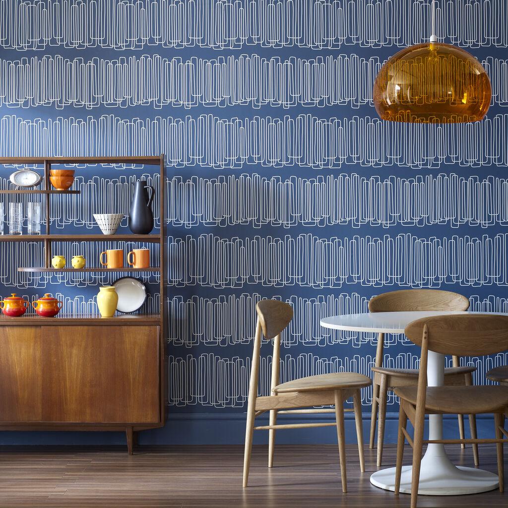 Navy Blue Wallpaper For Walls -