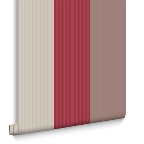Stria Red Wallpaper, , large