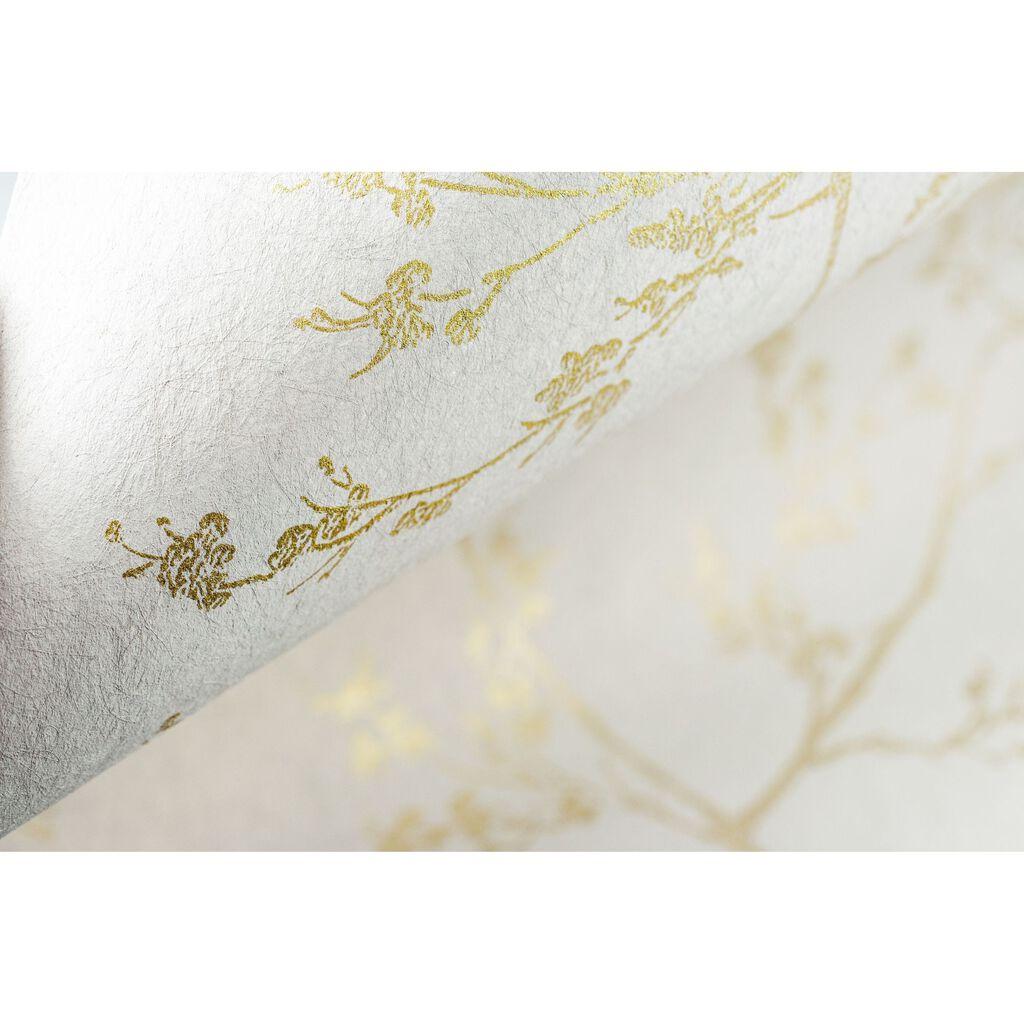 springtime beige and gold wallpaper graham brown. Black Bedroom Furniture Sets. Home Design Ideas