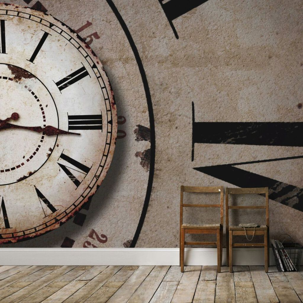 Clock Face Mural Grahambrownuk
