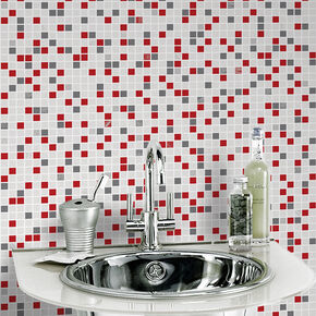Checker Rouge Wallpaper, , large
