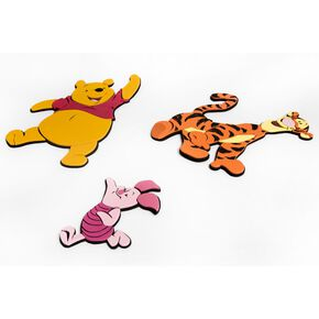 Winnie the Pooh 3 Foam Elements, , large
