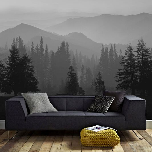 Misty Mountains Mural Grahambrownuk